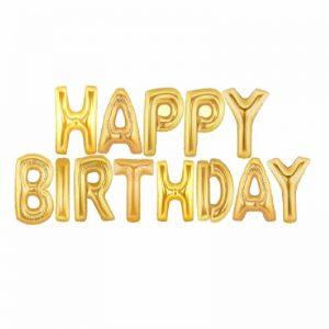 بادکنک فویلی تولدت مبارک