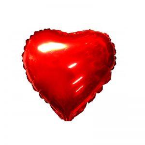 بادکنک فویلی قلب ساده