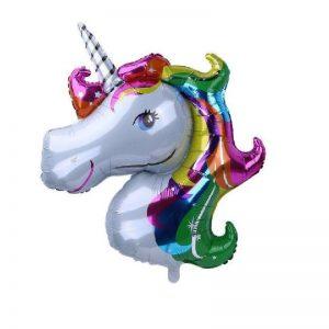 بادکنک فویلی اسب شاخدار