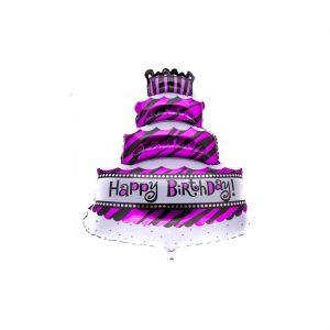 بادکنک فویلی کیک تولد
