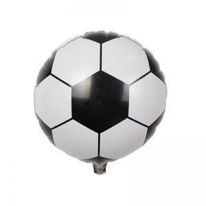 بادکنک فویلی گرد توپ فوتبال
