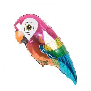 بادکنک فویلی طوطی