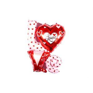 بادکنک فویلی لاو قلبی