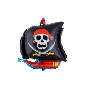 بادکنک فویلی کشتی دزدان دریایی