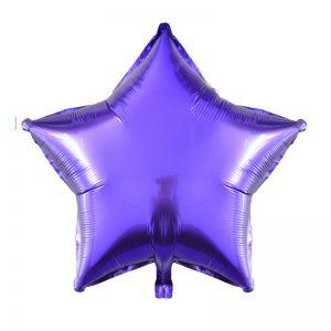 10-inch-Purple-Star-Foil-Balloon