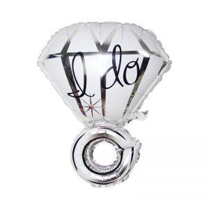 بادکنک فویلی حلقه الماس