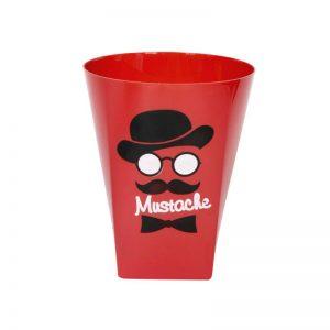 لیوان پلاستیکی قرمز بسته 6 عددی