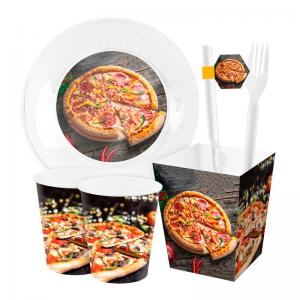 تم تولد پیتزا سفارشی