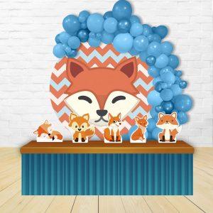 دکور تم تولد روباه سفارشی