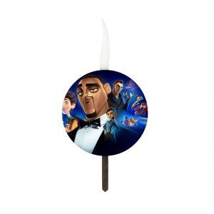 شمع تولد سفارشی تم جاسوسان نامحسوس