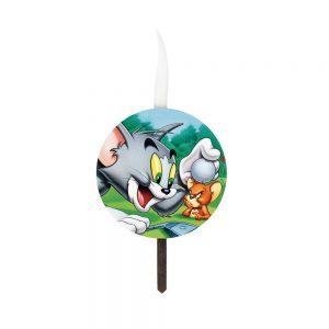 شمع تولد سفارشی تم تام و جری
