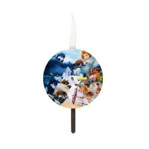 شمع تولد سفارشی تم گرگ ها و گوسفندها